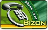 Bizon phone card