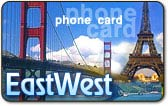 EastWest phone card